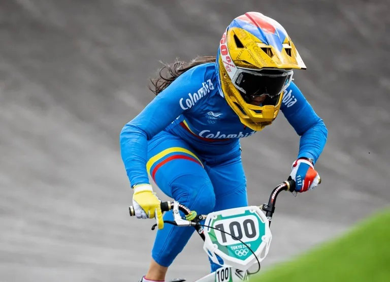 Mariana Pajón SILVER medal for Colombia in Tokyo 2020