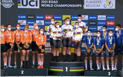 World Cycling Championships: Germany, World Mixed Relay Champion