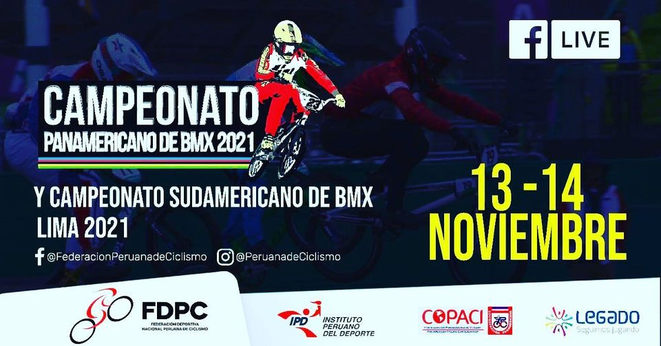 Three championships with date: BMX, Road and Master
