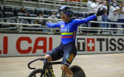 The troop of Colombia to the World Track Cycling Championship