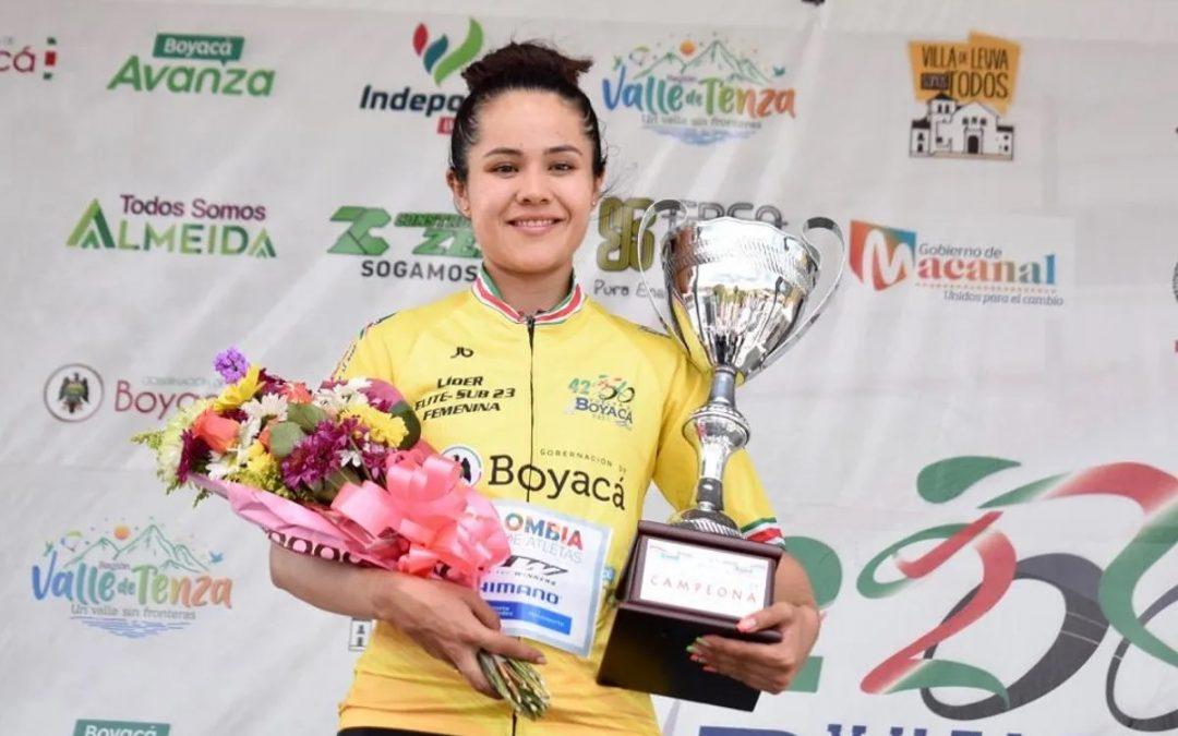 Camila Valbuena and Jeisson Casallas reach glory in Boyacá