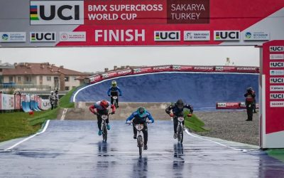 In Turkey, Carlos Ramírez is gold in the BMX World Cup