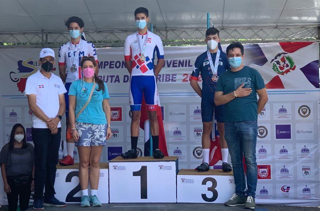 Dominicana abre con dos oros campeonato de ruta juvenil del Caribe