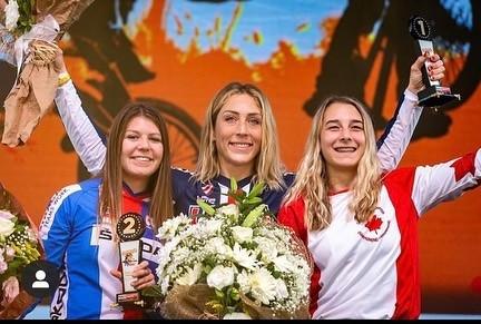 Francesca y Felicia, campeonas en Copa del Mundo BMX Supercross