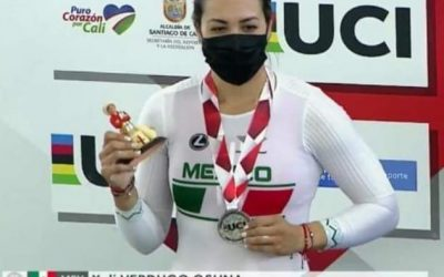 Yuli Verdugo, winner of the State Sports Award